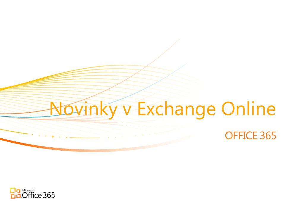 OFFICE 365 Novinky v Exchange Online