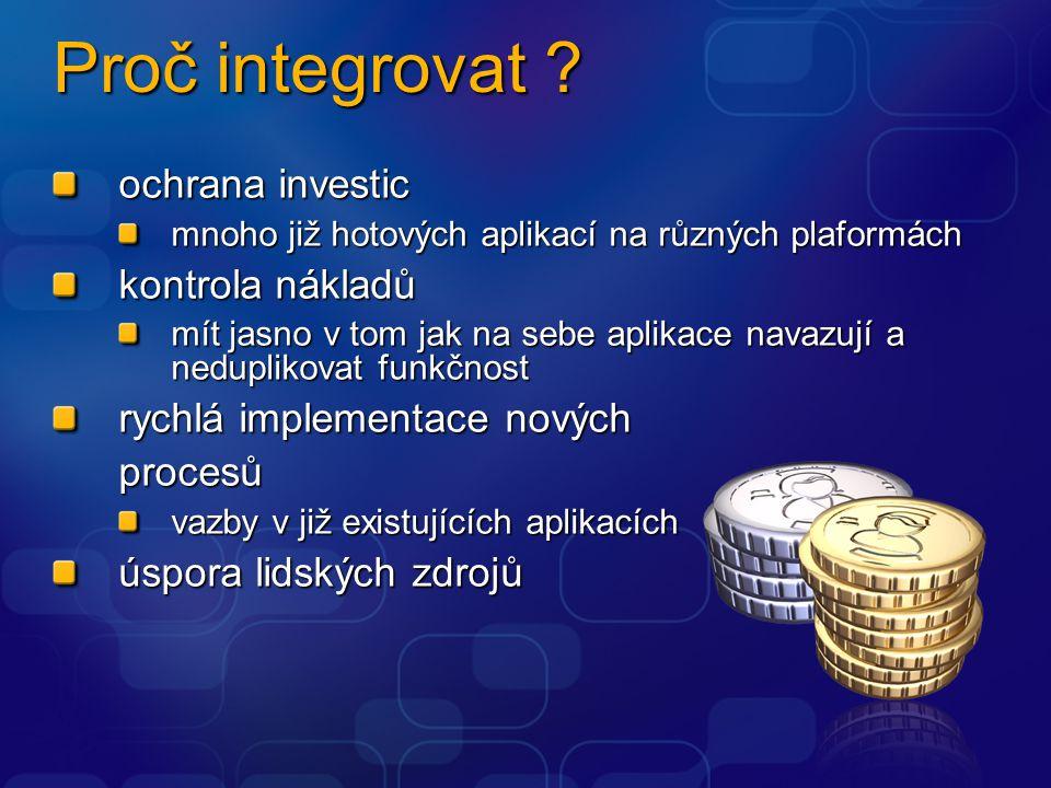 Proč integrovat .