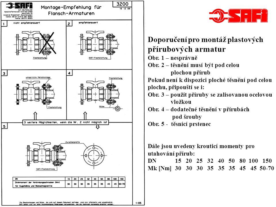 3- a 4-cestné kulové kohouty DN 50 – horizontální provedení Typ 1003, PN 10 Materiál: PP GF (polypropylen zesílený skelnými vlákny) Ventil je možno vybavit různými koncovkami podle požadavků zákazníka.