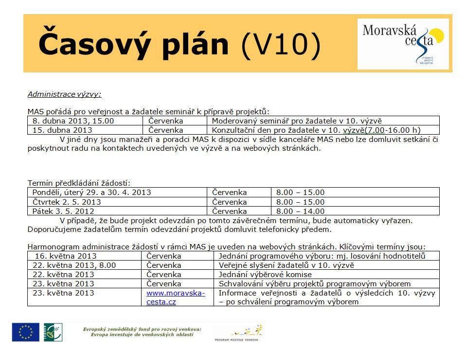 Časový plán (V10)