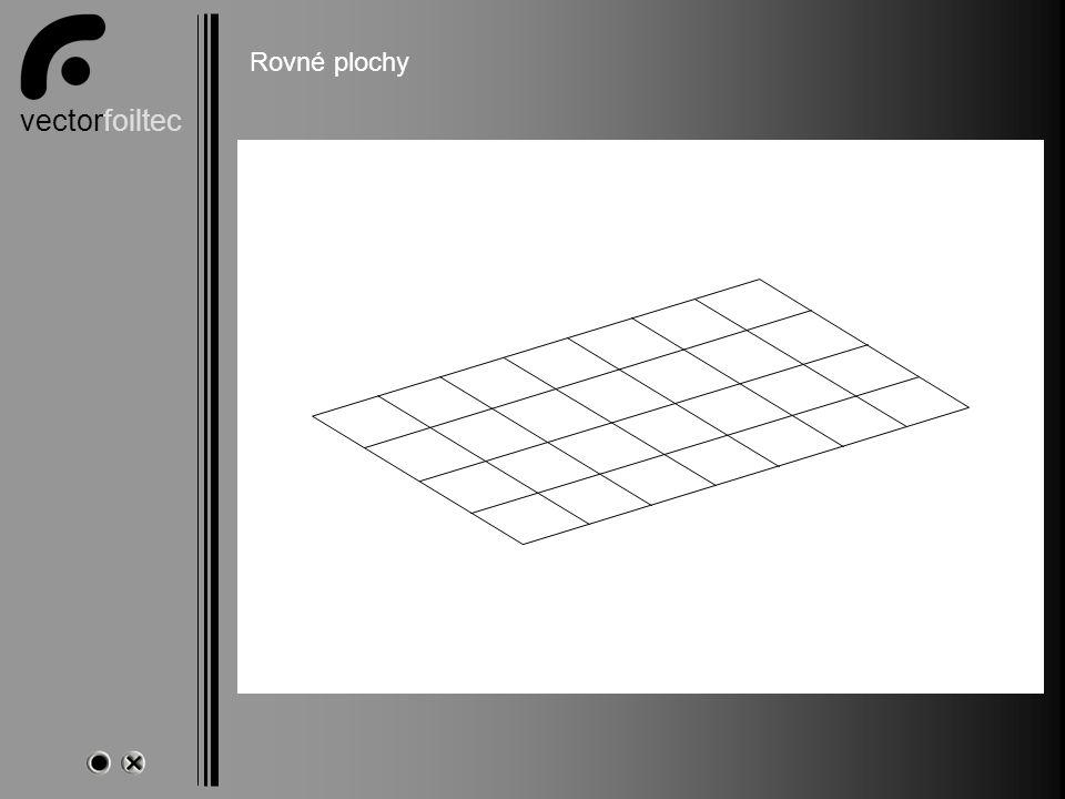 vectorfoiltec Ebene Flächen Rovné plochy