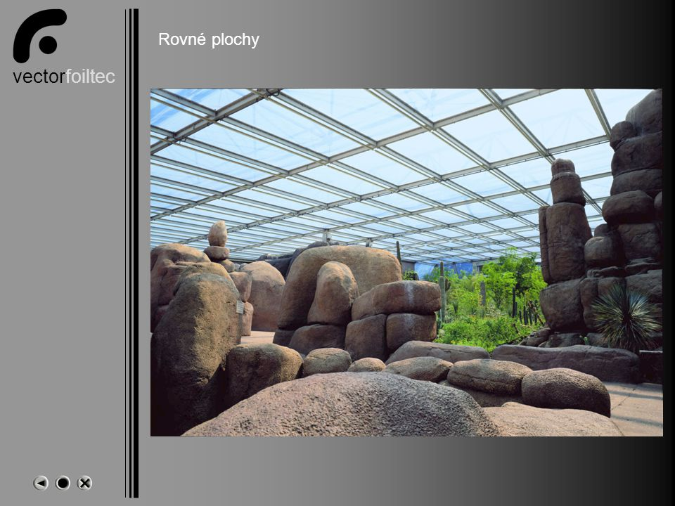 vectorfoiltec NL-Arnheim-Zoo Desert Hall Rovné plochy