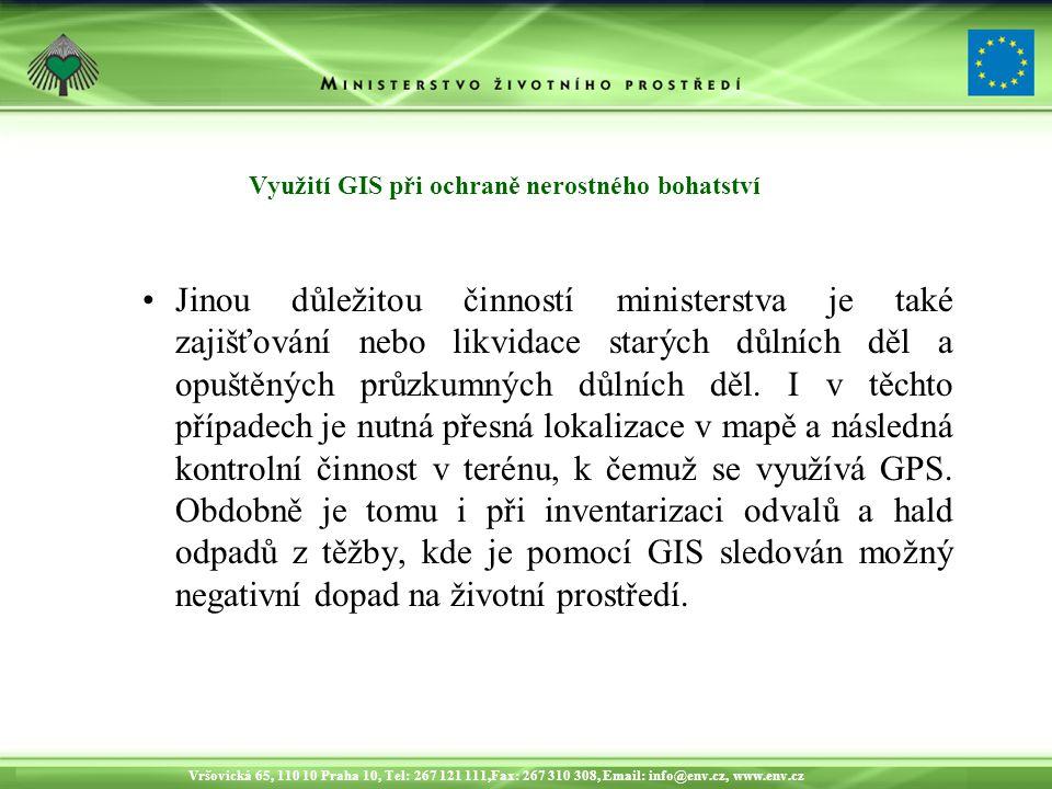 Vršovická 65, 110 10 Praha 10, Tel: 267 121 111,Fax: 267 310 308, Email: info@env.cz, www.env.cz Sledování postupů těžby