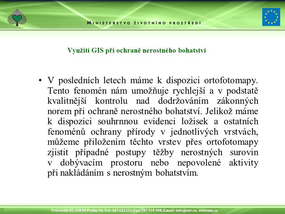 Vršovická 65, 110 10 Praha 10, Tel: 267 121 111,Fax: 267 310 308, Email: info@env.cz, www.env.cz Dopad těžby na ŽP
