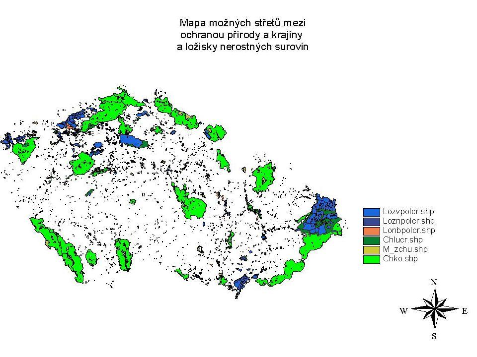 Vršovická 65, 110 10 Praha 10, Tel: 267 121 111,Fax: 267 310 308, Email: info@env.cz, www.env.cz Využití GIS při ochraně nerostného bohatství Minister