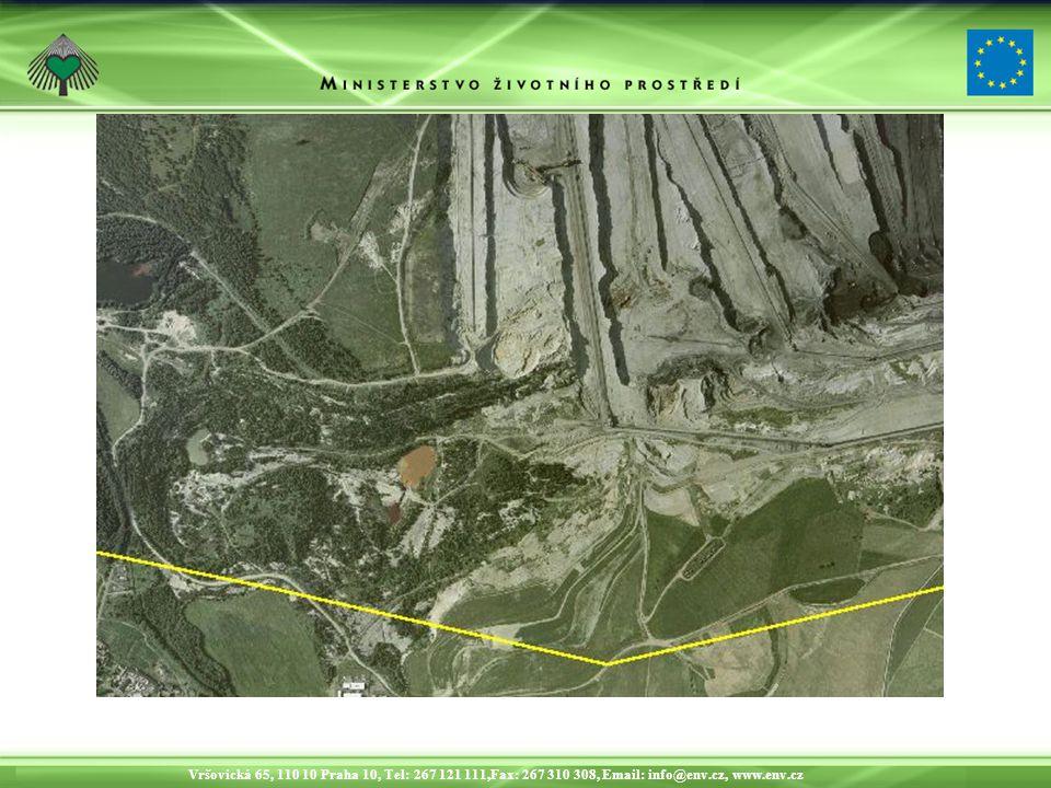 Vršovická 65, 110 10 Praha 10, Tel: 267 121 111,Fax: 267 310 308, Email: info@env.cz, www.env.cz Sledování rekultivací
