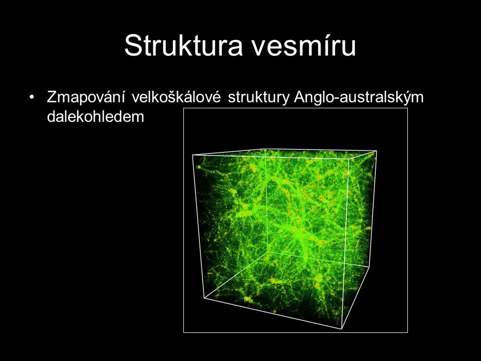 Struktura vesmíru Zmapování velkoškálové struktury Anglo-australským dalekohledem
