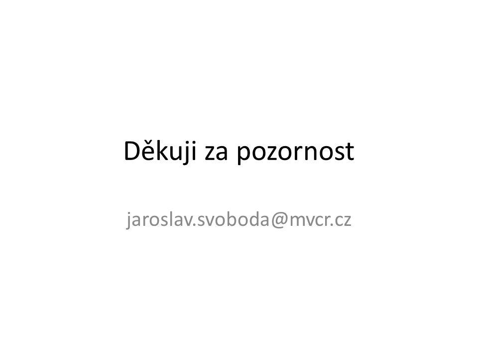 Děkuji za pozornost jaroslav.svoboda@mvcr.cz