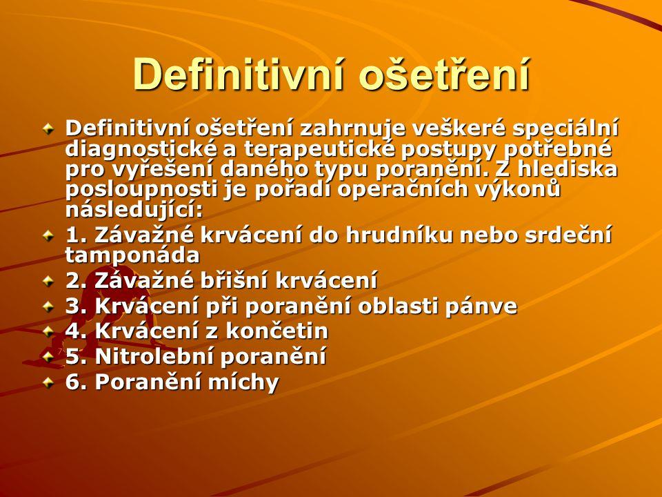 Traumacentrum FN Plzeň 2008 -2010