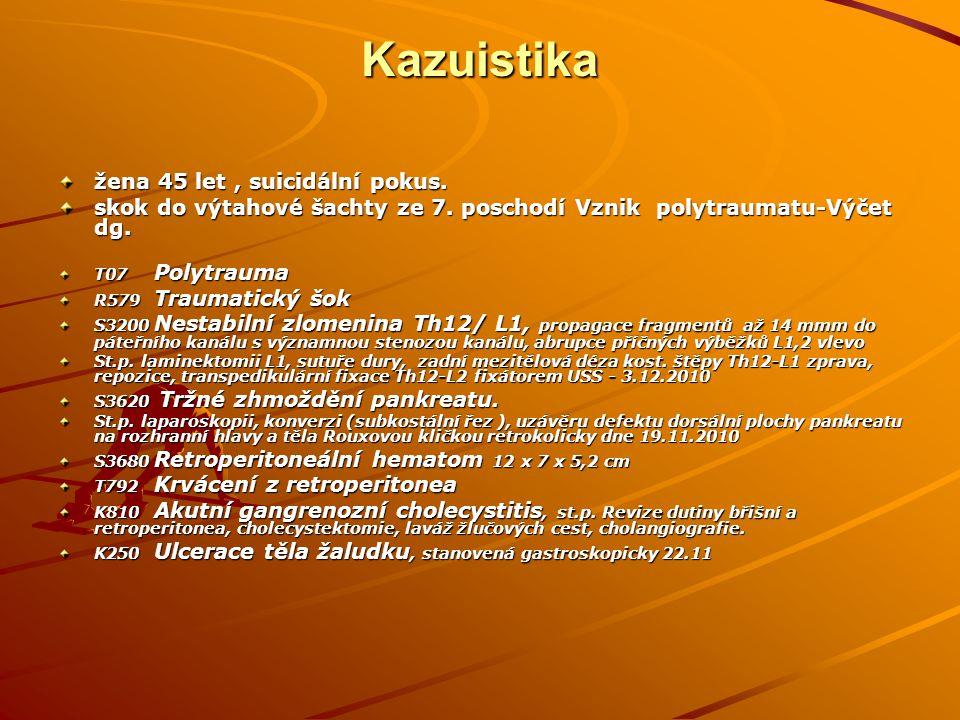 Kazuistika S0290V.s.