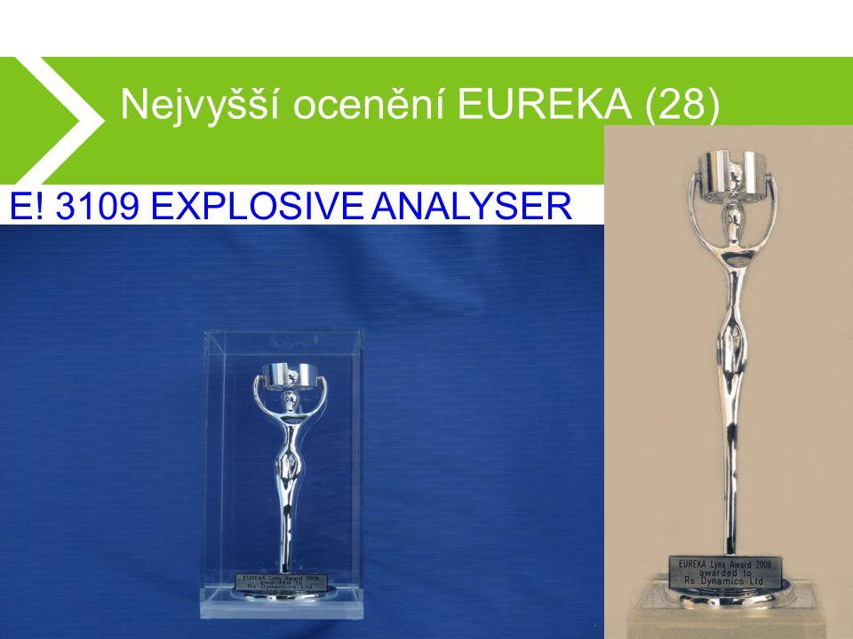 Nejvyšší ocenění EUREKA (28) E! 3109 EXPLOSIVE ANALYSER