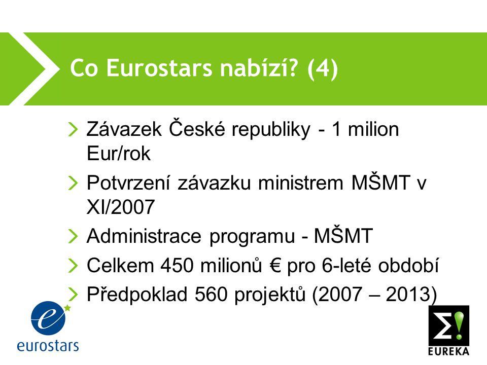Co Eurostars nabízí.