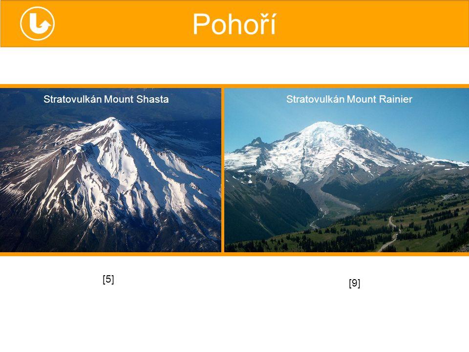 Stratovulkán Mount Shasta Stratovulkán Mount Rainier [5][5] [9][9]