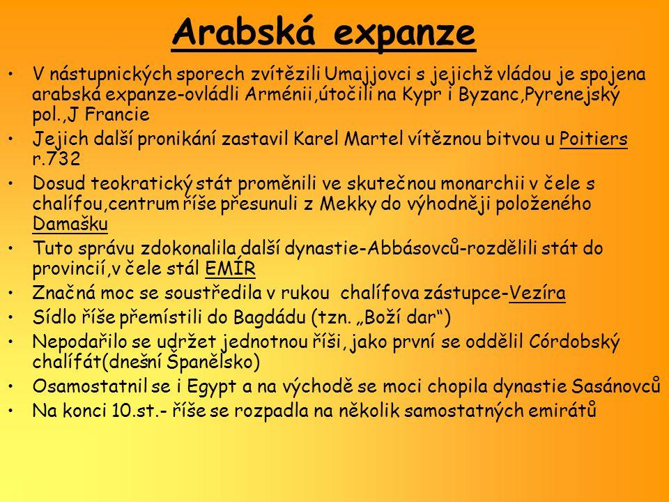 Arabská kultura Hl.