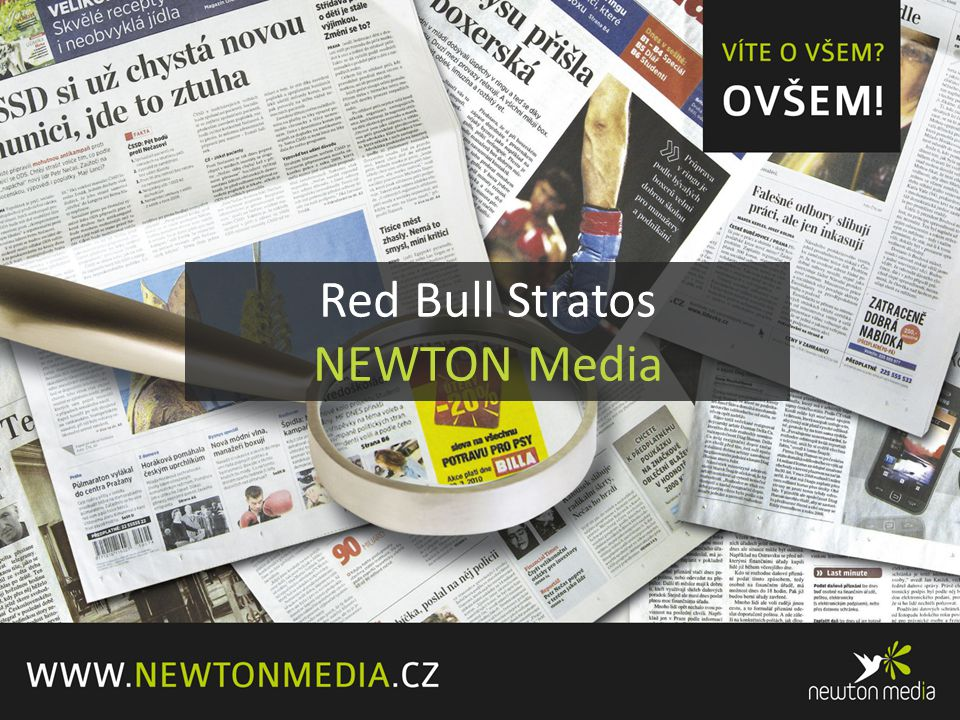 Red Bull Stratos NEWTON Media