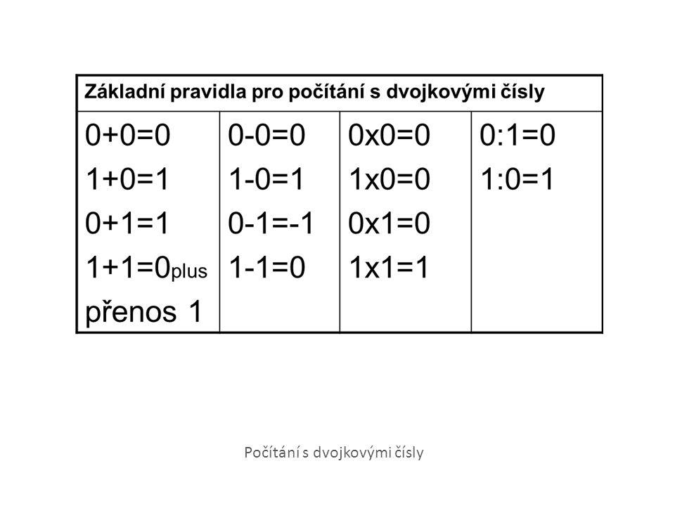 Počítání s dvojkovými čísly