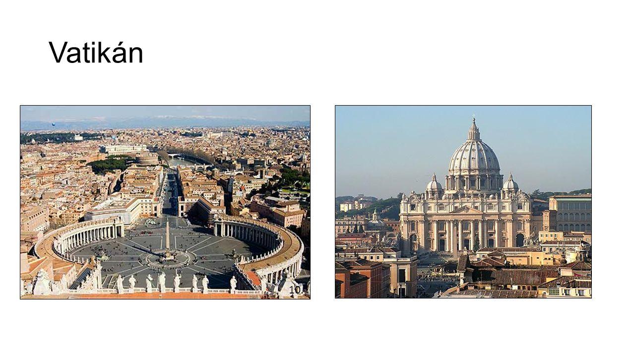 Vatikán 10. 11.