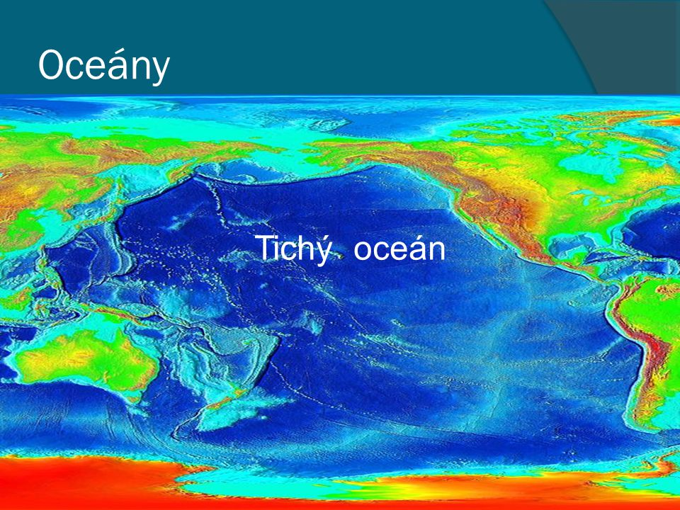 Oceány Tichý oceán