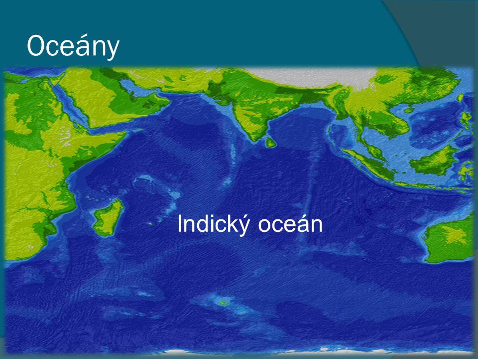 Oceány Indický oceán