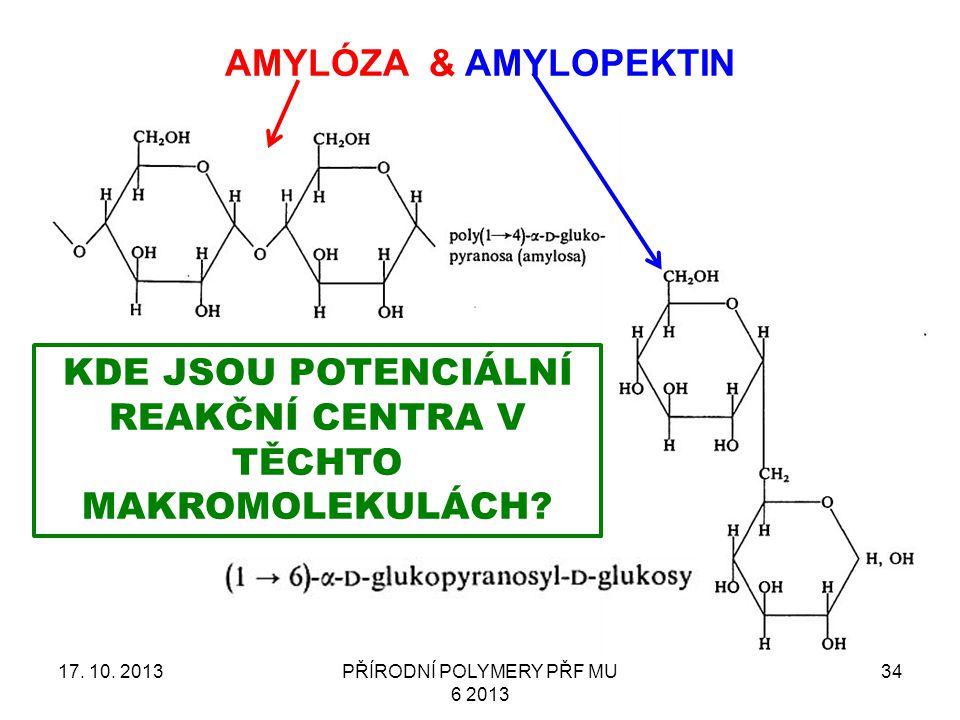 AMYLÓZA & AMYLOPEKTIN 17.10.