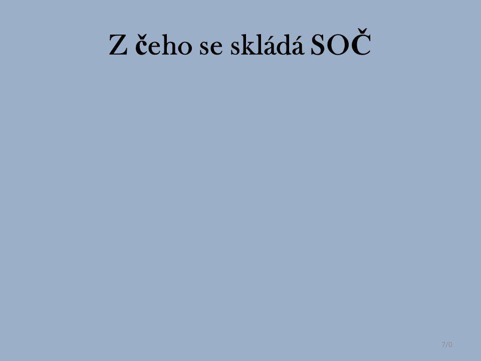 7/0 Z č eho se skládá SO Č