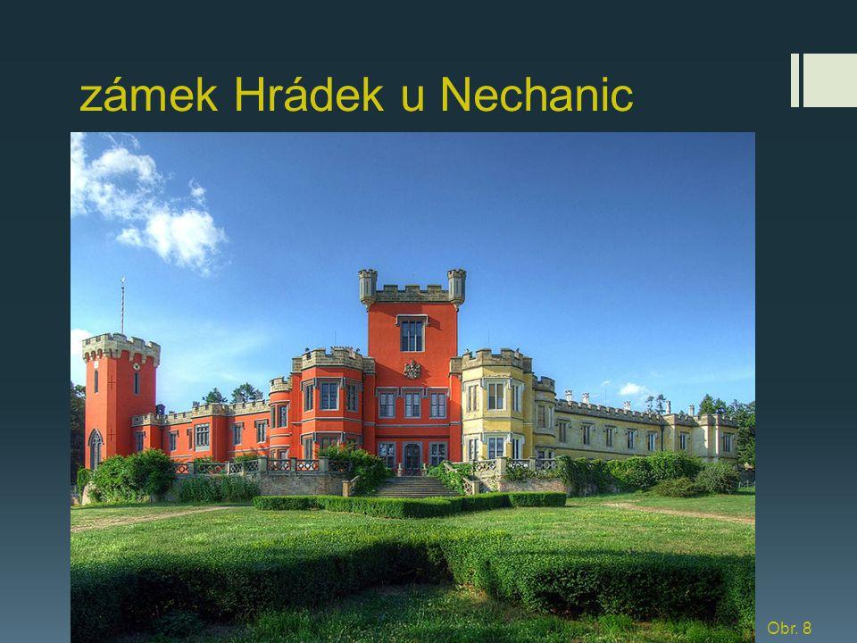 zámek Hrádek u Nechanic Obr. 8