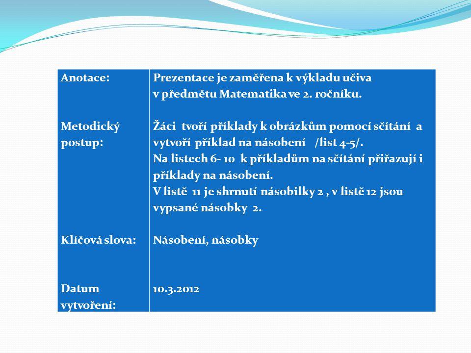 POUŽITÉ ZDROJE Program Microsoft Office 2012