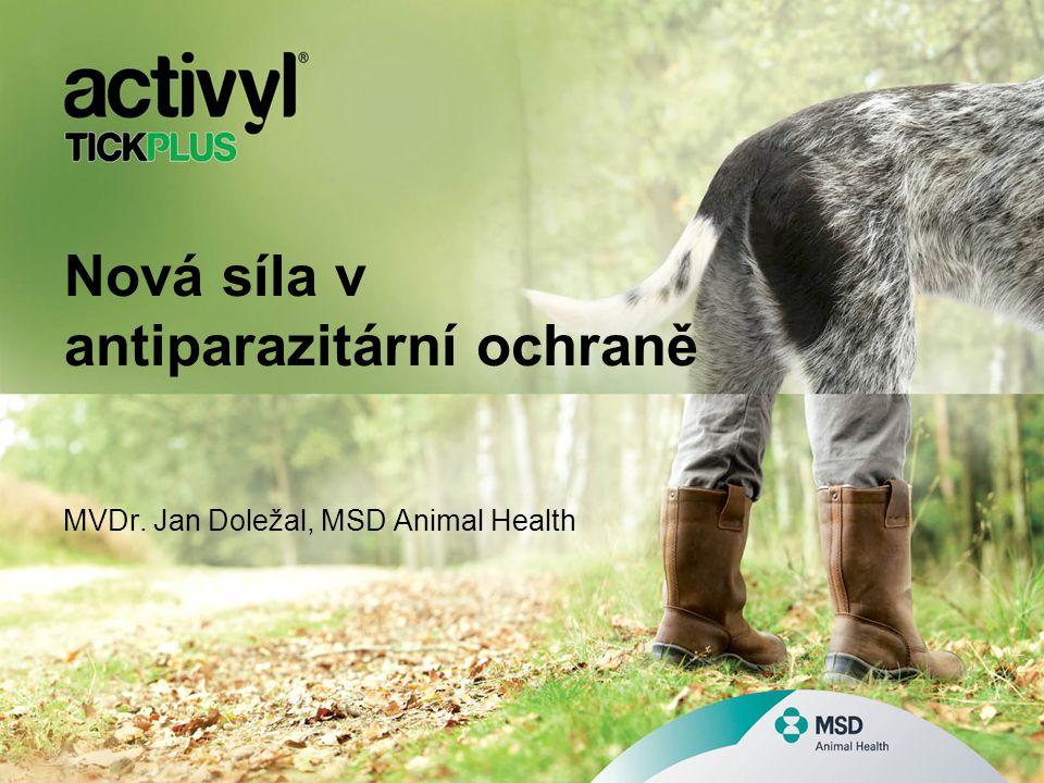 Nová síla v antiparazitární ochraně MVDr. Jan Doležal, MSD Animal Health