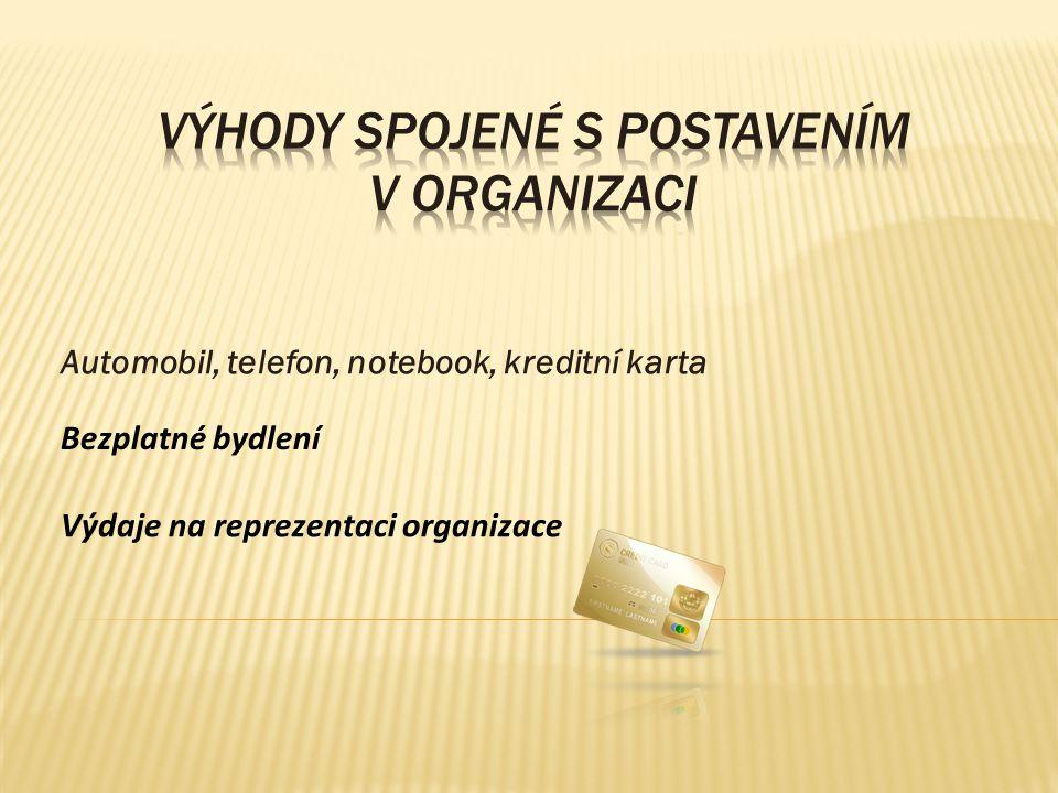 Stravování, stravenky Výhodnější prodej produktů organizace Vzdělání hrazené organizací