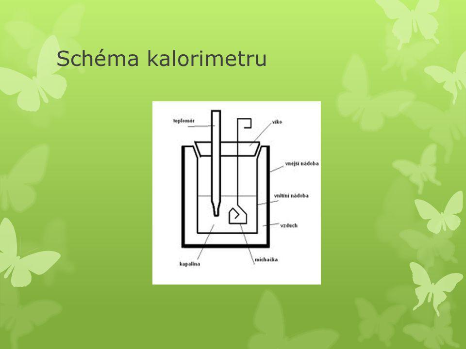 Schéma kalorimetru