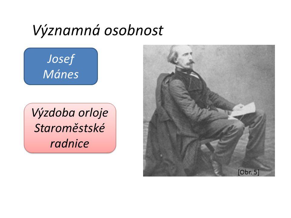 Josef Mánes Výzdoba orloje Staroměstské radnice [Obr. 5]