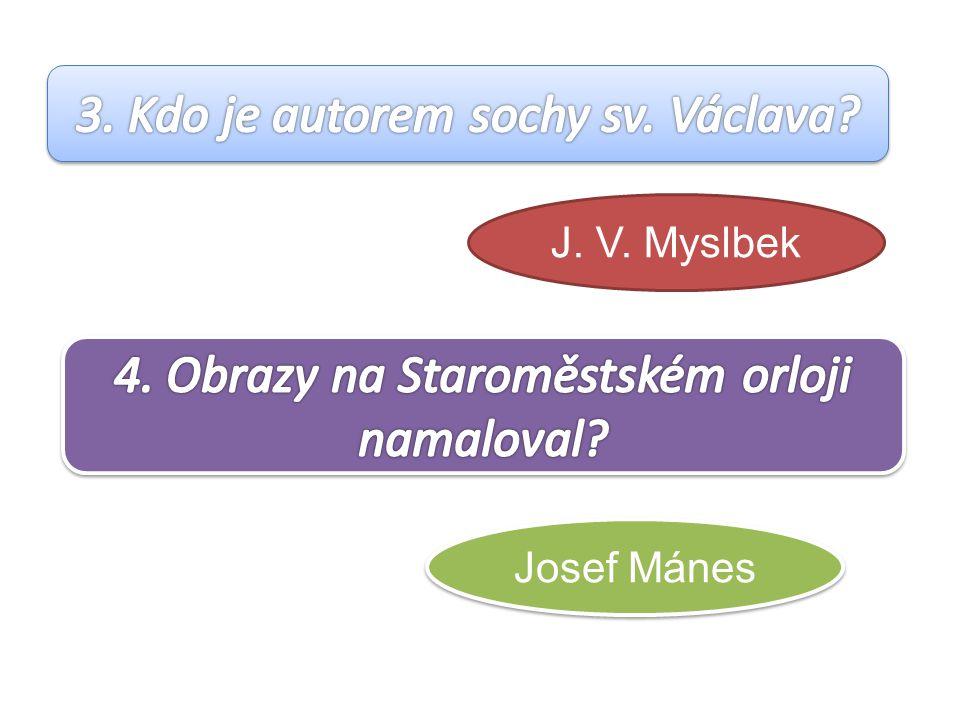 J. V. Myslbek Josef Mánes