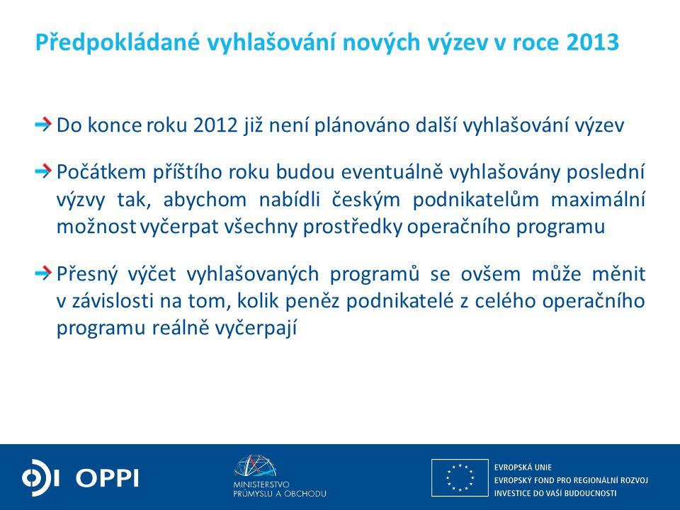 Ing. Martin Kocourek ministr průmyslu a obchodu ZPĚT NA VRCHOL – INSTITUCE, INOVACE A INFRASTRUKTURA Do konce roku 2012 již není plánováno další vyhla