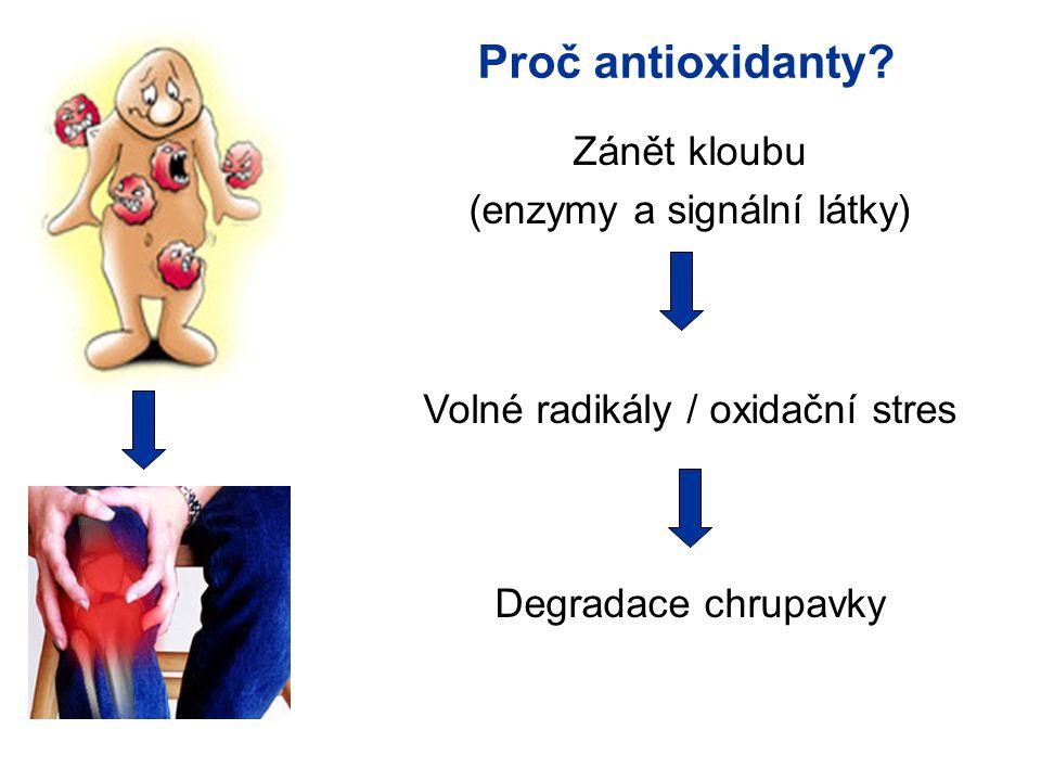Proč antioxidanty.