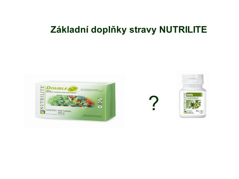 Základní doplňky stravy NUTRILITE ?