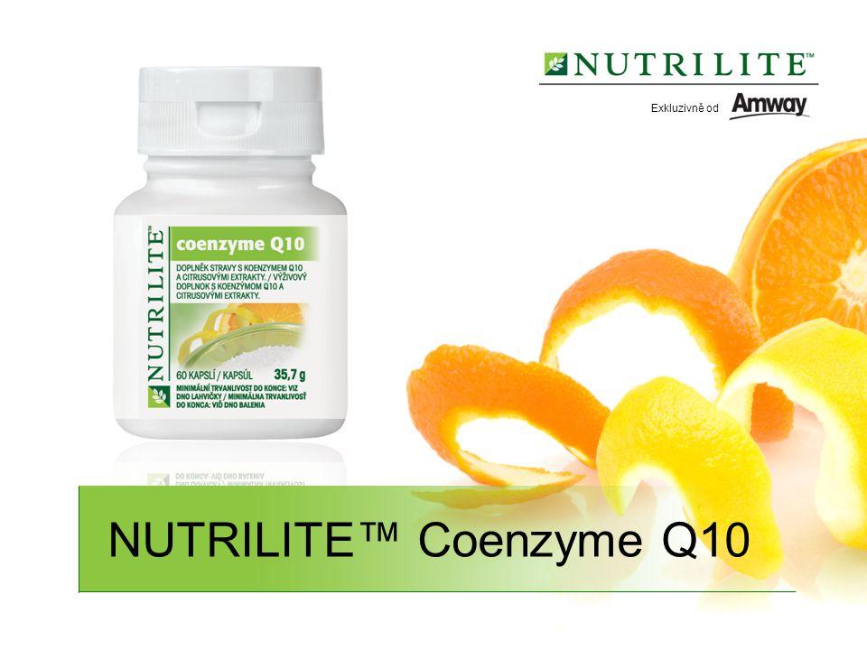 NUTRILITE™ Coenzyme Q10 Exkluzivně od
