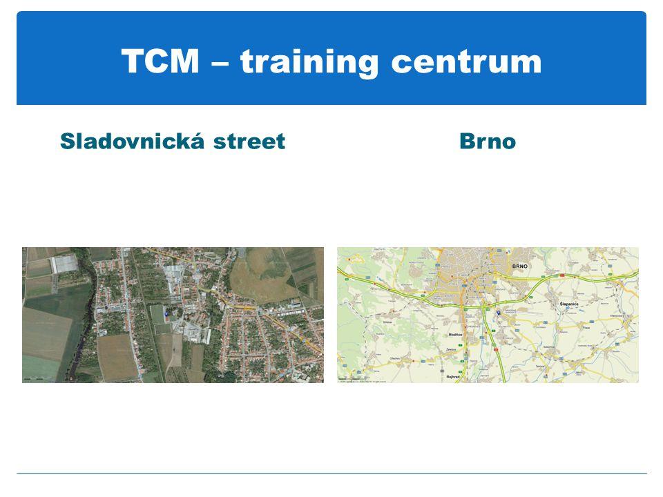 TCM – training centrum Sladovnická streetBrno