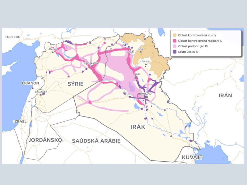 Islámský stát vznikl jako odnož al-Káidy v roce 2013.