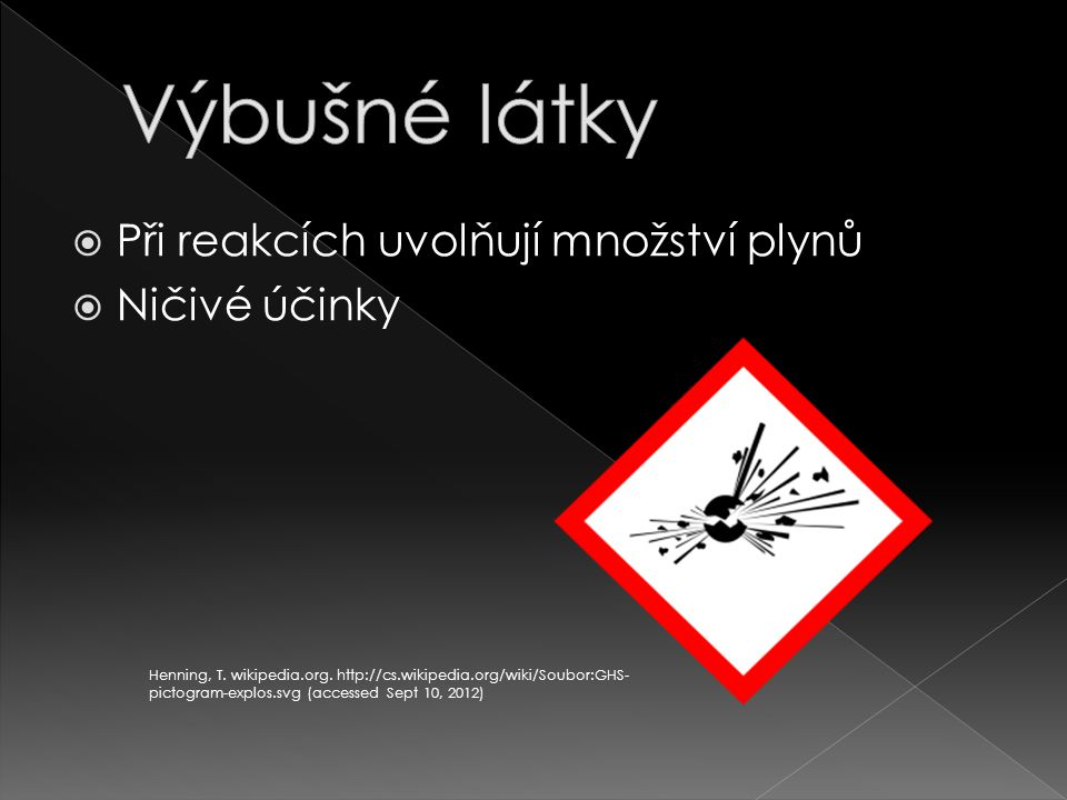  Nitroglycerin  Dynamit  Trinitrotoluen  Semtex Henning, T.