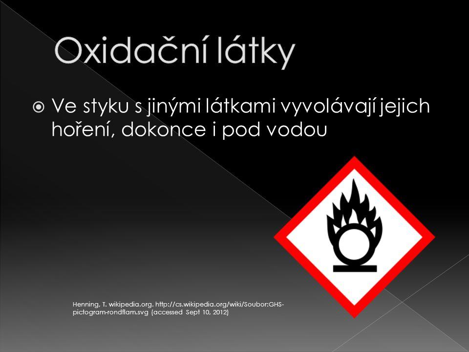  Manganistan draselný  Kyselina dusičná  Peroxid vodíku Henning, T.
