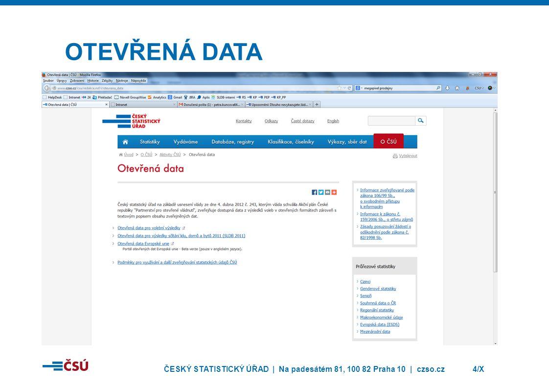 ČESKÝ STATISTICKÝ ÚŘAD | Na padesátém 81, 100 82 Praha 10 | czso.cz5/X SČÍTÁNÍ LIDU, DOMŮ A BYTŮ 2011