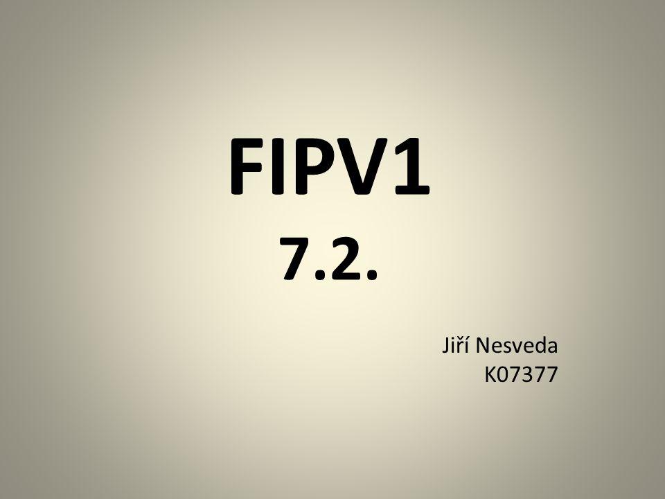 FIPV1 7.2. Jiří Nesveda K07377