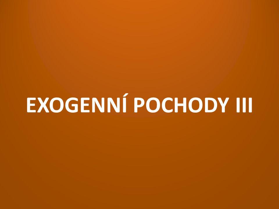 EXOGENNÍ POCHODY III