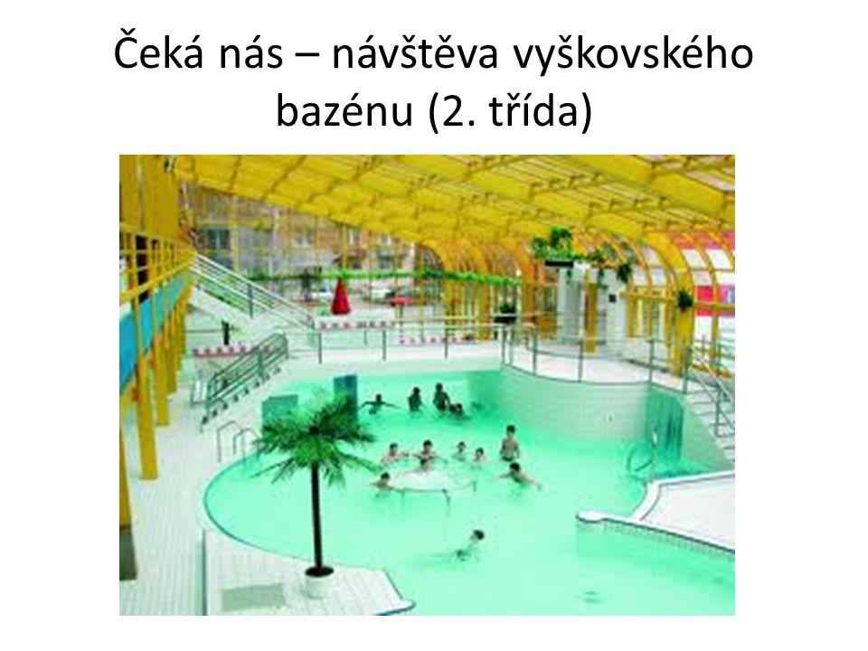 Čeká nás – návštěva vyškovského bazénu (2. třída)