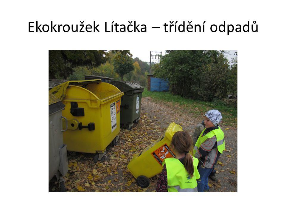 Ekokroužek Lítačka – třídění odpadů
