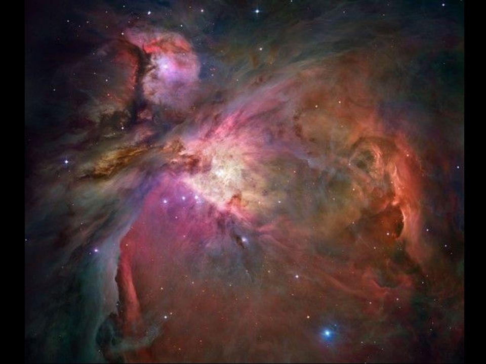 vznik před 4,6 miliardami let (giga annuum – Ga) hmotnost 10 5 až 10 6 hmotností Slunce (M S ) teplota 10 až 30 K hustota 1000 molekul v cm 3 průměr několik milionů světelných let (light year – ly) složení – zejména H a He, dále molekuly složené z C, N, O, S, Si běžně jde o stabilní útvar, proč zkolaboval.
