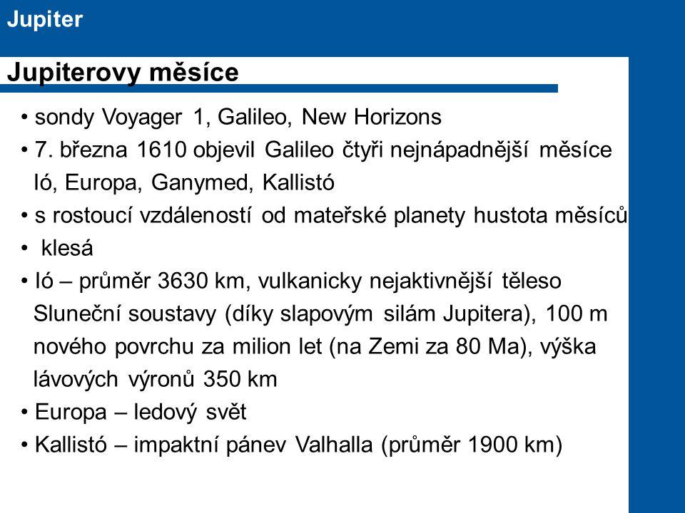 sondy Voyager 1, Galileo, New Horizons 7.
