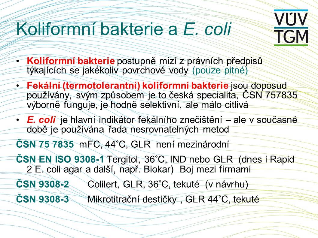 Koliformní bakterie a E.