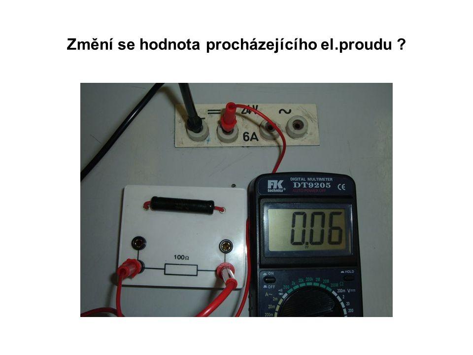 Zvýšíme opět napětí na 8 voltů.