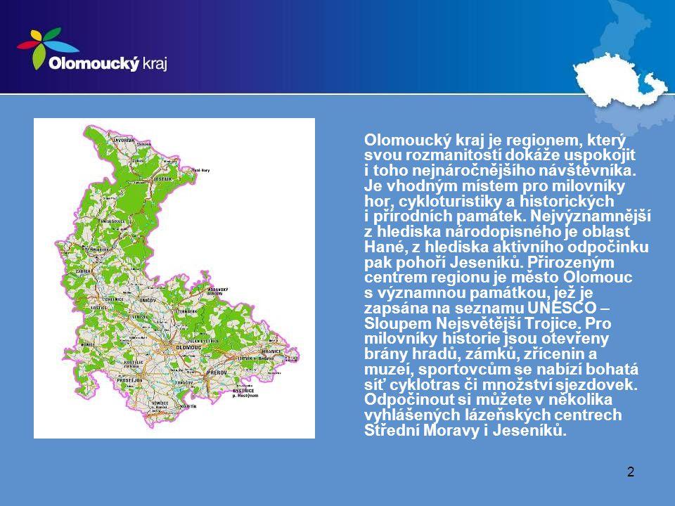 23 Olomouc  MHD – tramvaj, autobus  pěšky Olomouc – Prostějov  České dráhy, a.s. – vlak Doprava